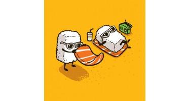 Немного юмора про суши.