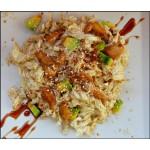 Салат ореховый с курицей